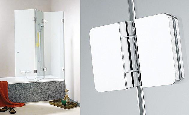 Стеклянная шторка для ванны модель XXL от SPRINZ