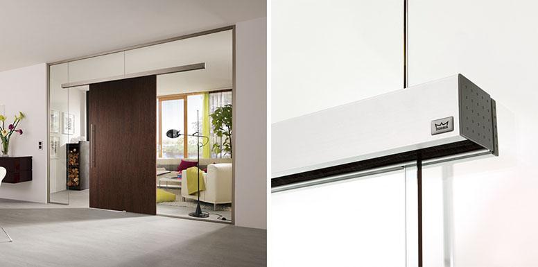 дверь раздвижная стеклянная серии AGILE 150